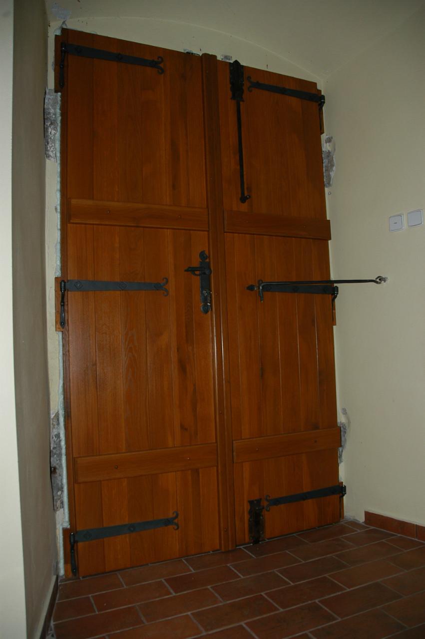Replika dveří - zevnitř